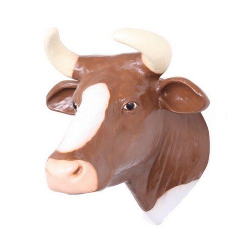 trophée de vache grandeur nature