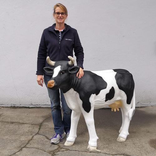 vache petite veau nlcdeco.fr animaux en resine decor