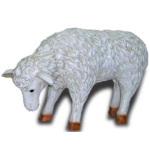 Agneau animaux décoration statue en résine nlcdéco deco