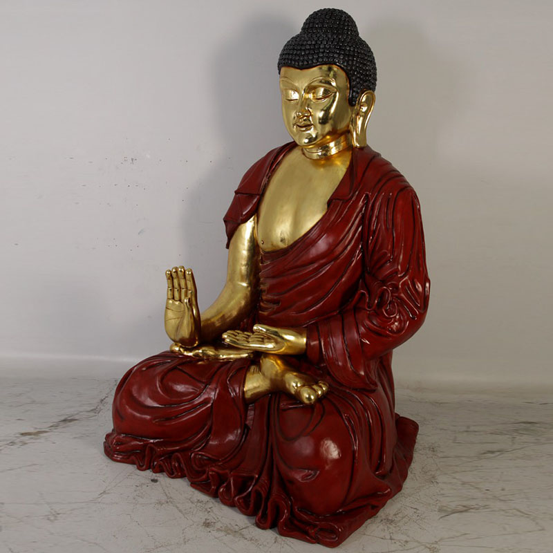 Bouddha géant résine NLC DECO