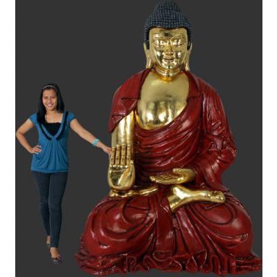 Bouddha géant résine