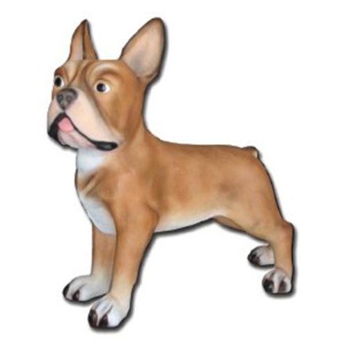 Bouledogue-géant chien resine animaux nlc déco deco