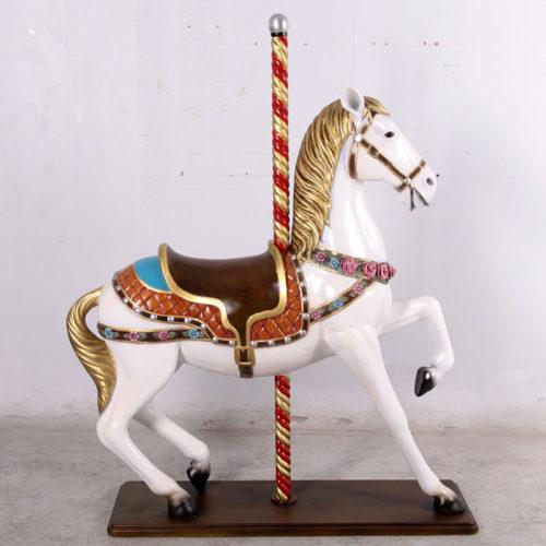 Cheval de carrousel 130045 nlcdeco nlc deco
