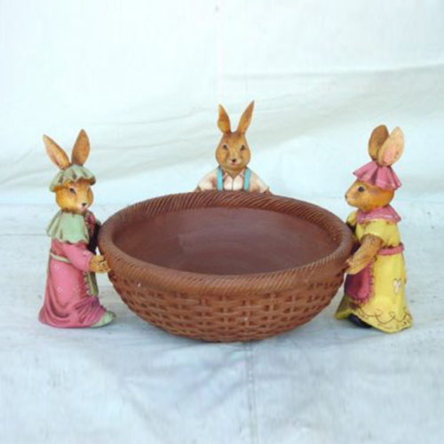 Corbeille-3-lapins nlcdeco NLC DECO