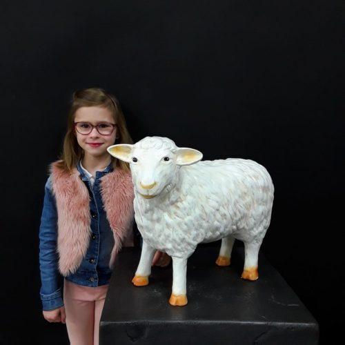 Fausse statue d'agneau nlcdeco