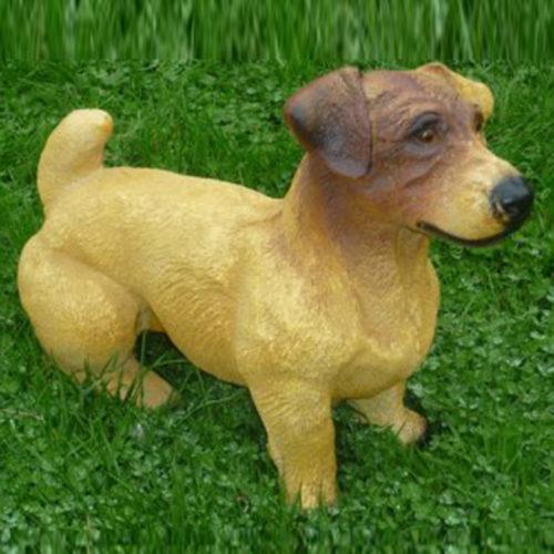 Jack-Russel chien resine nlc déco deco
