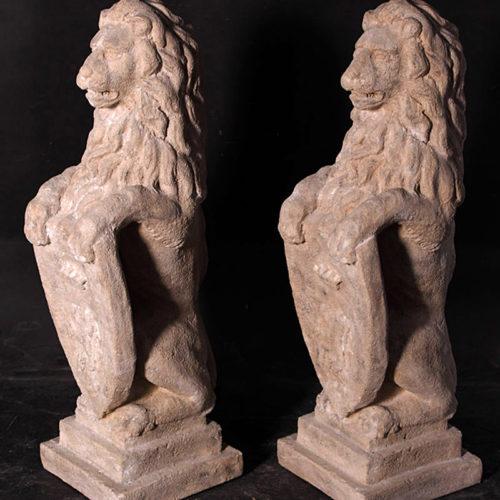 Lions Héraldique NLC DECO