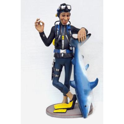 Plongeur + Requin