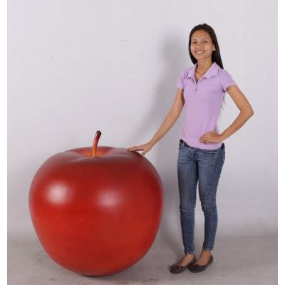 pomme g ante rouge fruits fleurs champignons figurines et d cors en r sine. Black Bedroom Furniture Sets. Home Design Ideas