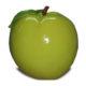Pomme verte résine
