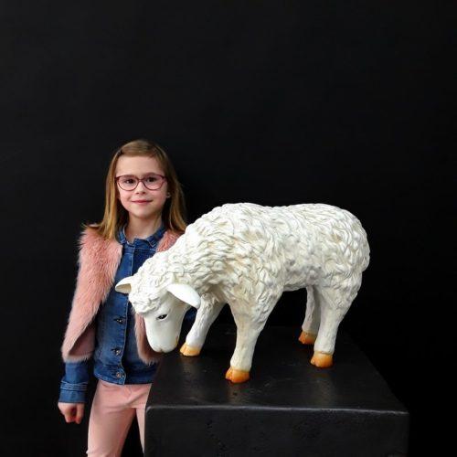 Statue agneau en résine nlcdeco