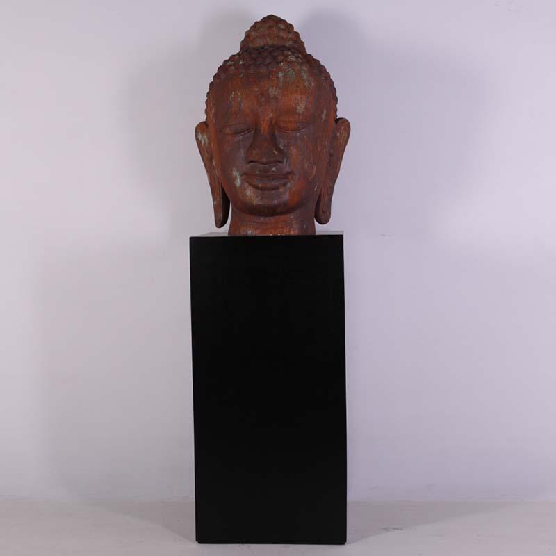 Tête de Bouddha géante sur socle NLC DECO