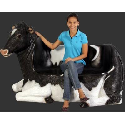 Vache banc extérieur