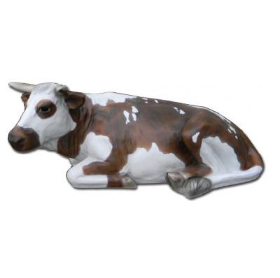 Vache couchée Normande