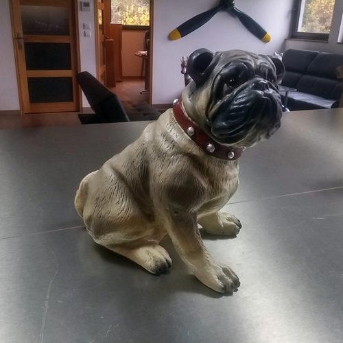 bouledogue NLC DECO nlc déco chien résine resine
