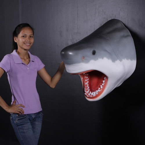 requin trophée 130046 nlcdeco nlc deco