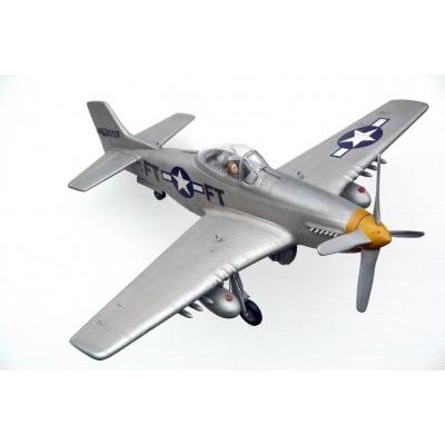 Avion Spitfire gris