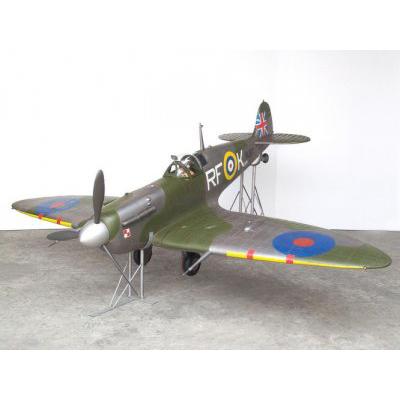 Avion spitfire résine