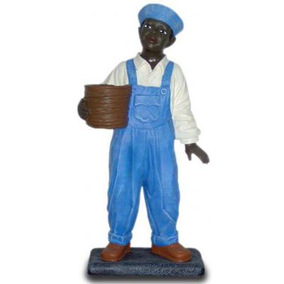 Black garçon pot