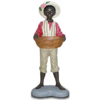 Black garçon corbeille