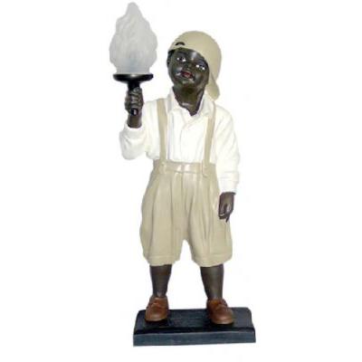 Black garçon lampe