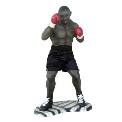 Boxeur-PM-rouge-nlcdeco boxe sport sportif personnage
