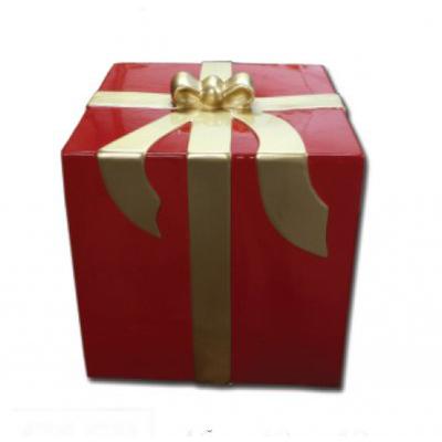 Cadeau rouge et or pm