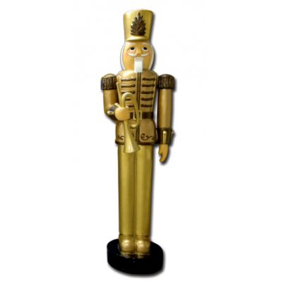 Casse noisette trompette or GM