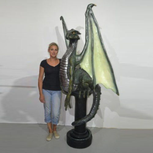 Dragon sur pilier NLC DECO