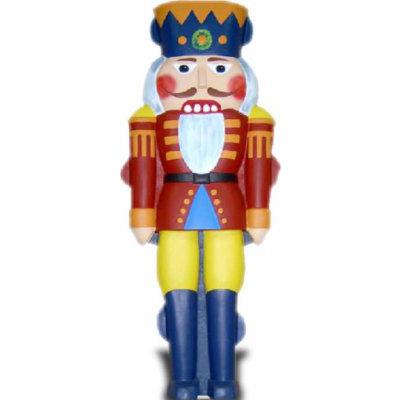 Garde de Noël demi coque rouge