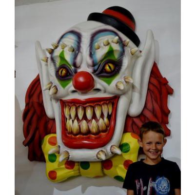 Masque clown terrifiant