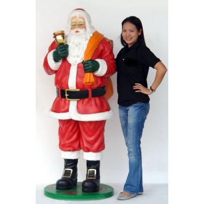 Père Noël cloche et sac