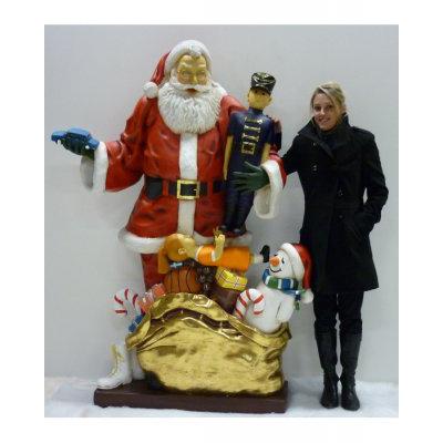 Père Noël et cadeaux