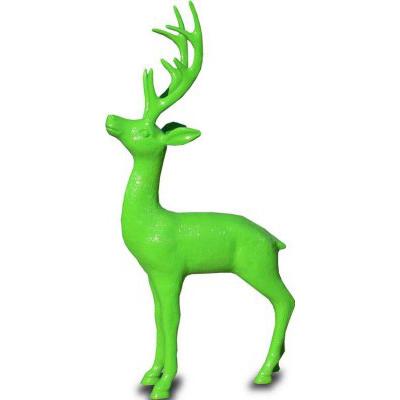 Renne couleur verte