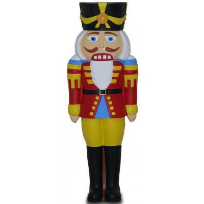 Soldat de Noël GM jaune
