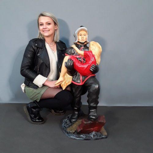 Statuette Pompier nlcdeco