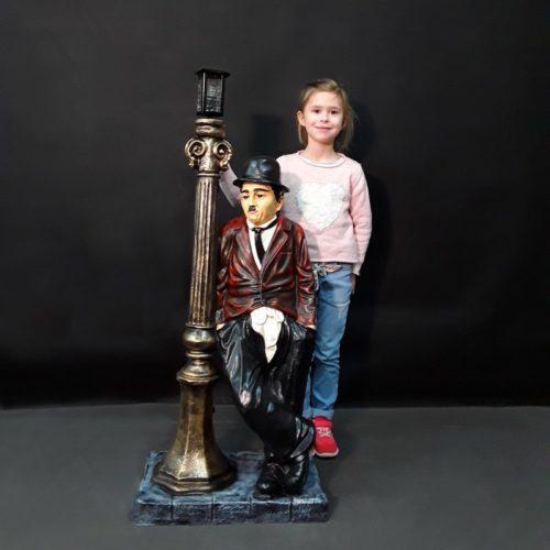 Statuette Charlie Chaplin nlcdeco
