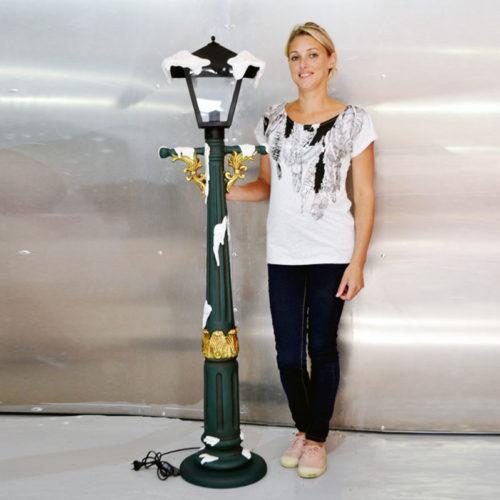 lampadaire noel resine nlcdeco decor noel