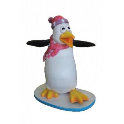 Pingouin humoristique Flipper