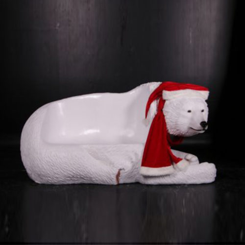 Ours-blanc-banc noel nlc deco
