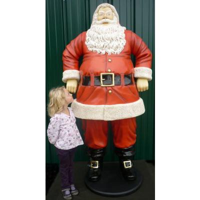 Père Noël mains côtés GM