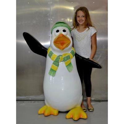 Pingouin humoristique Skipper