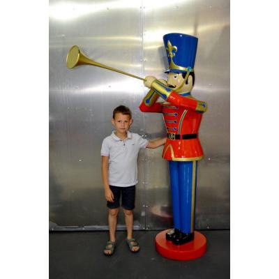 Soldat jouet trompette M