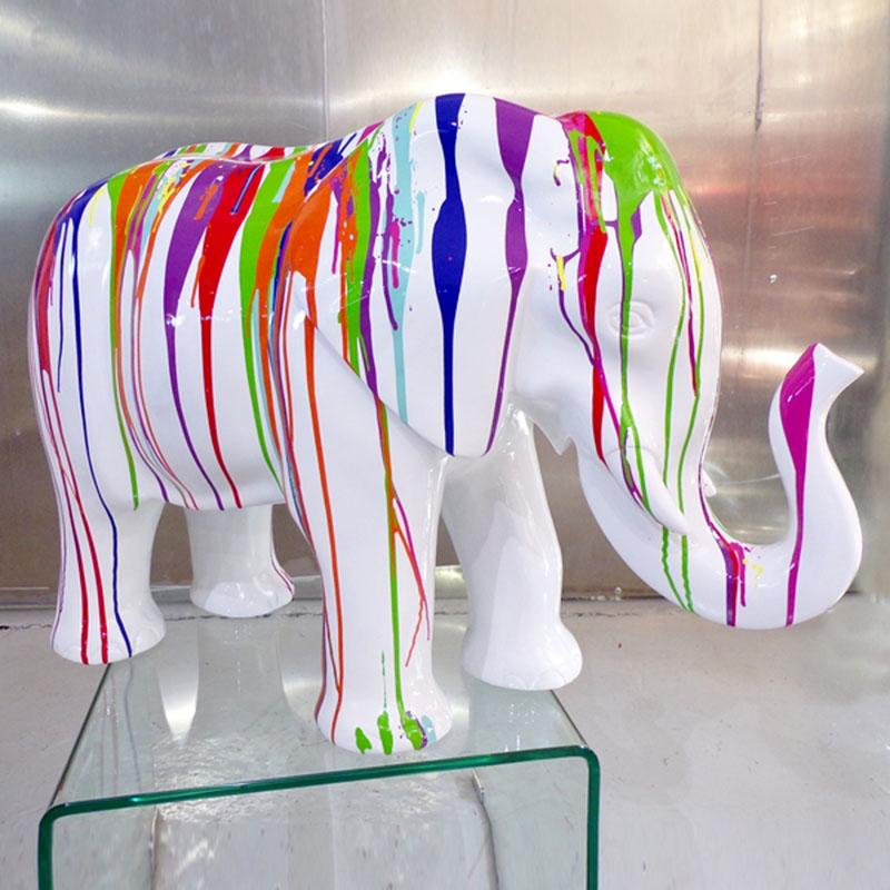 éléphant-trash-design-résine nlcdeco (1)
