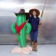 Cactus marrant nlcdeco decoration cowboy indien decor en resine