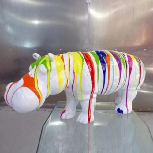 Hippopotame trash design