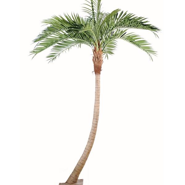 Cocotier courbe plante artificielle d cors et animaux en - Palmier cocotier ...