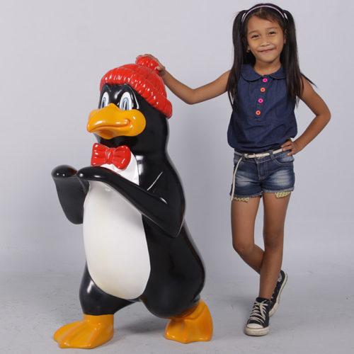 Traîneau et pingouin