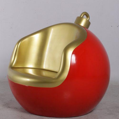 décor boule de Noël géante siège NLC DECO