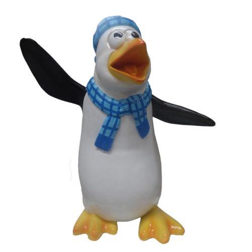 PINGOUIN décor marché de Noël